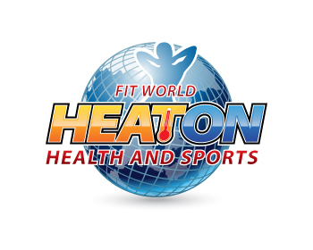 Heaton Health and Sports logo design