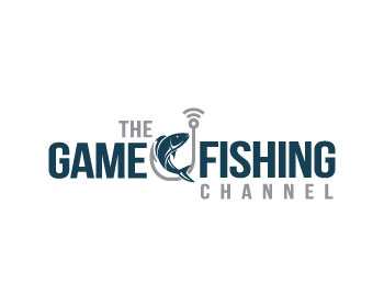 Fishing TV logo design