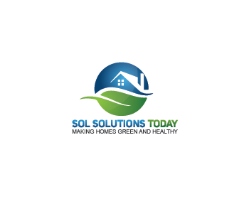 Sol Solutions Today logo design