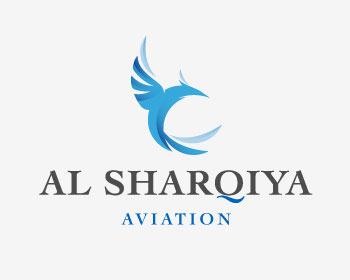 Al Sharqiya Aviation logo design