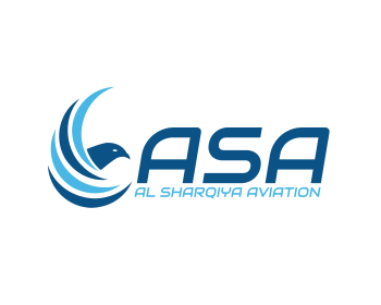 Logo design for Al Sharqiya Aviation