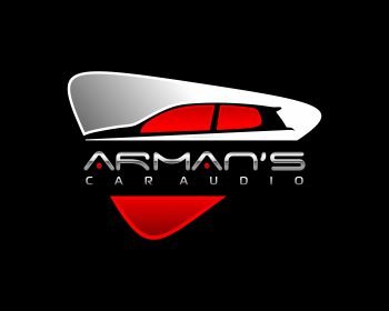 Arman's Car Audio logo design