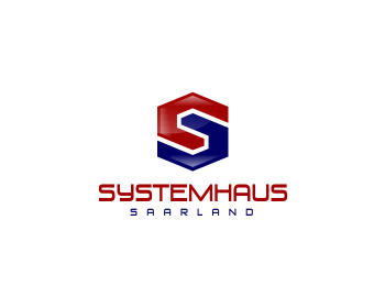 Logo design for Systemhaus.Saarland GmbH
