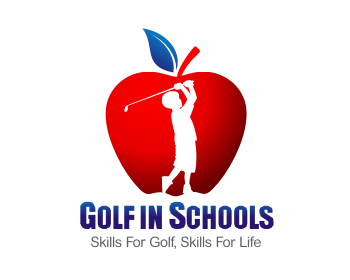 Golf in Schools USA logo design