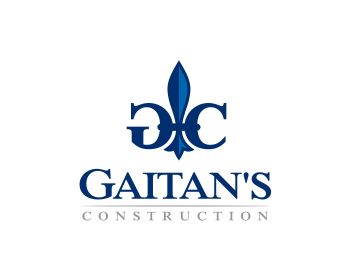 Gaitan's Construction logo design