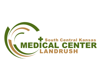 South Central Kansas Medical Center Landrush logo design