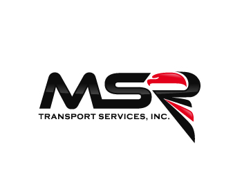 MSR Transport Services, Inc. logo design