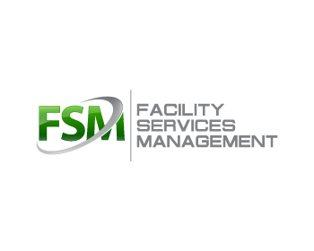 FSM (Facility Services Management) logo design
