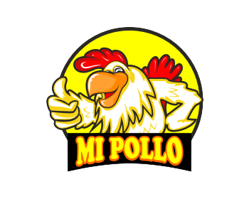 MI Pollo logo design