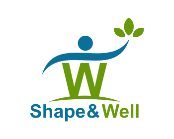 Shape & Well logo design