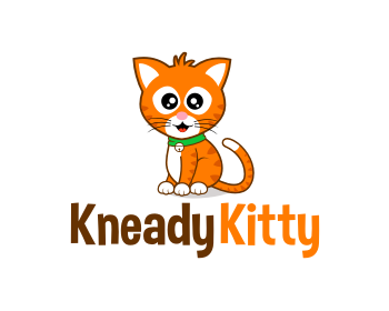 KneadyKitty logo design