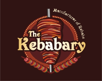 The Kebabary - Manufacturer of Kebabs logo design