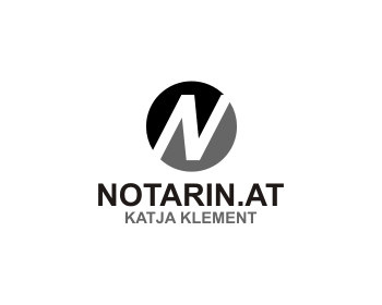 NOTARIN.AT logo design