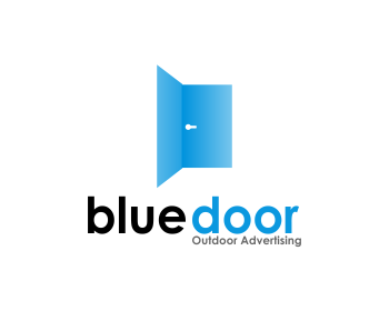 Blu Door logo design