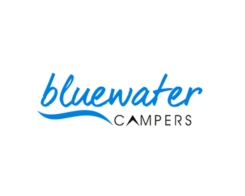 Bluewater Campers logo design