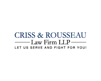 Criss & Rousseau Law Firm LLP logo design