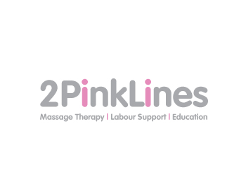 Two Pink Lines logo design