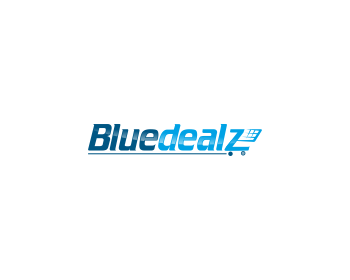 Bluedealz logo design