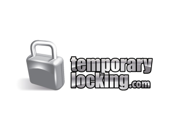 www.temporarylocking.com logo design