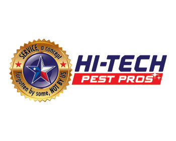 Hi-Tech Pest Pros logo design