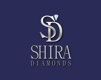 Shira Diamonds logo design