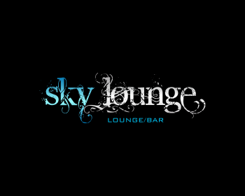 Sky Lounge logo design