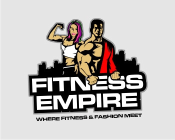Fitness Empire logo design