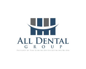 All Dental Group logo design