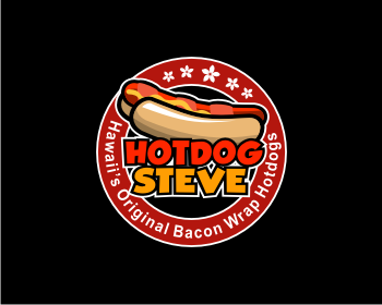 Logo design for HOT DOG STEVE