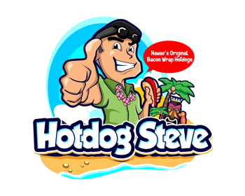 HOT DOG STEVE logo design
