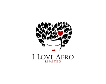 I Love Afro Limited logo design