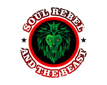 Soul Rebel and the Beast logo design