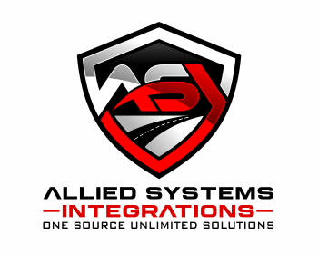 Allied Systems Integrations or ASI logo design