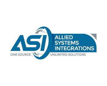 Logo per Allied Systems Integrations or ASI