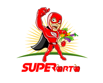 SUPERorto logo design