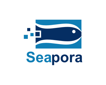 Seapora logo design