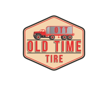 Logo Old Time Tire