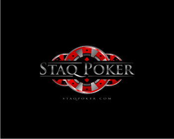 Staq Poker logo design