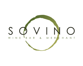Sovino Wine Bar & Merchant logo design