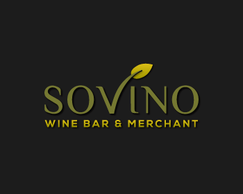 Logo design for Sovino Wine Bar & Merchant
