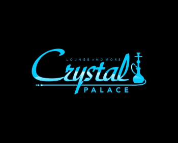 Restaurant logo design for Crystal Palace