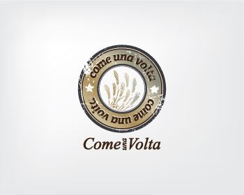 Logo design for COME UNA VOLTA