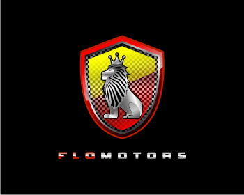 FLOMOTORS logo design