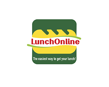 Logo design for LunchOnline