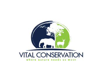 logo design entry number 24 by nigz65 vital conservation logo contest