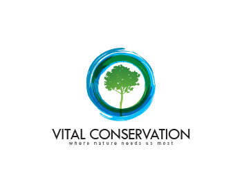 Vital Conservation logo design