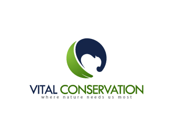 logo design entry number 103 by nigz65 vital conservation logo contest