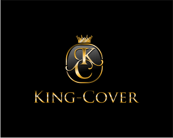King-Cover logo design