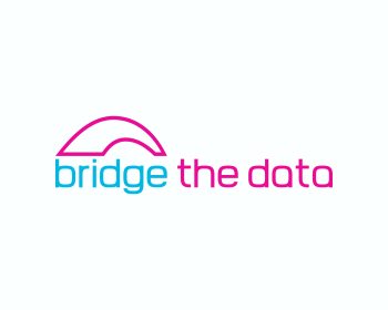 Bridge The Data logo design