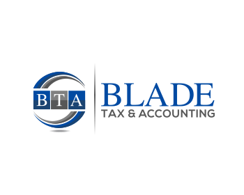 Restaurant logo design for Blade Tax & Accounting